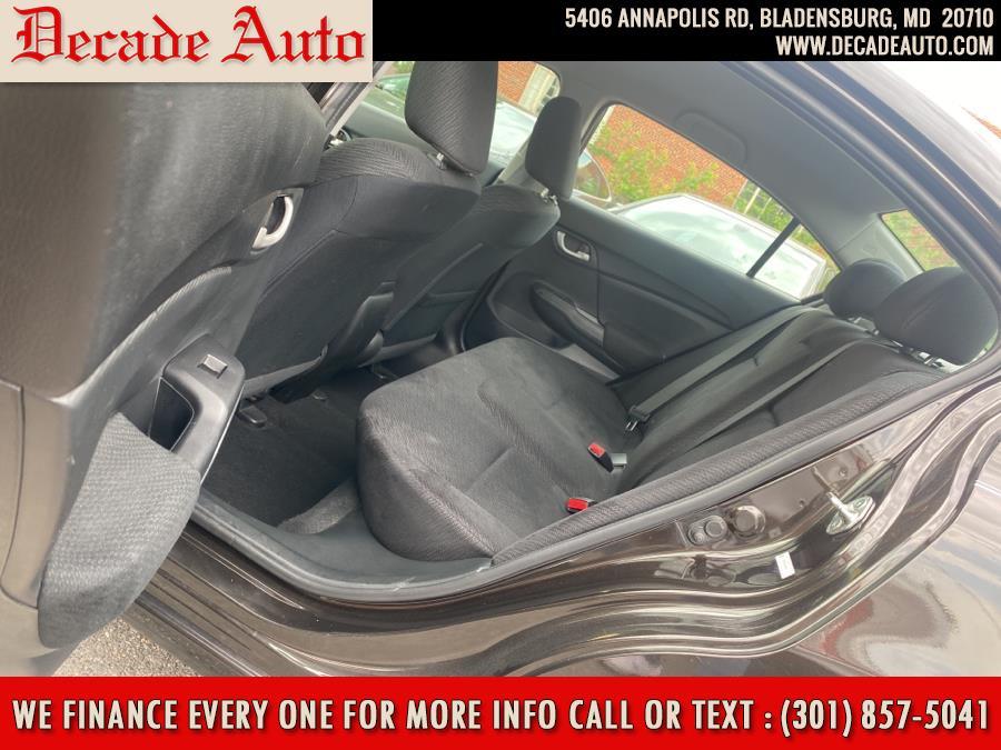 Used Honda Civic Sedan 4dr CVT EX 2014   Decade Auto. Bladensburg, Maryland