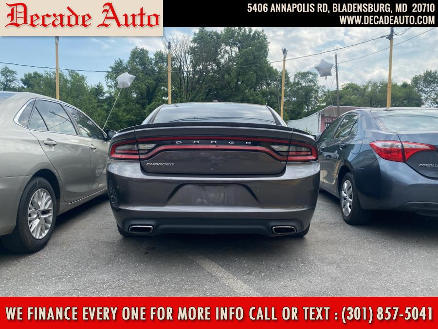 Used Dodge Charger 4dr Sdn SE RWD 2015   Decade Auto. Bladensburg, Maryland