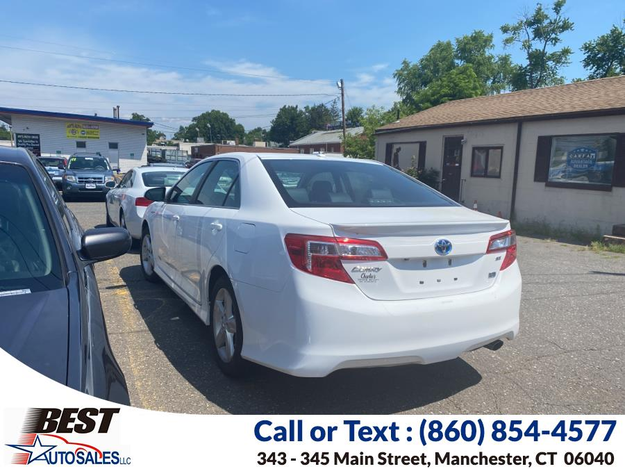 Used 2014 Toyota Camry Hybrid in Manchester, Connecticut | Best Auto Sales LLC. Manchester, Connecticut