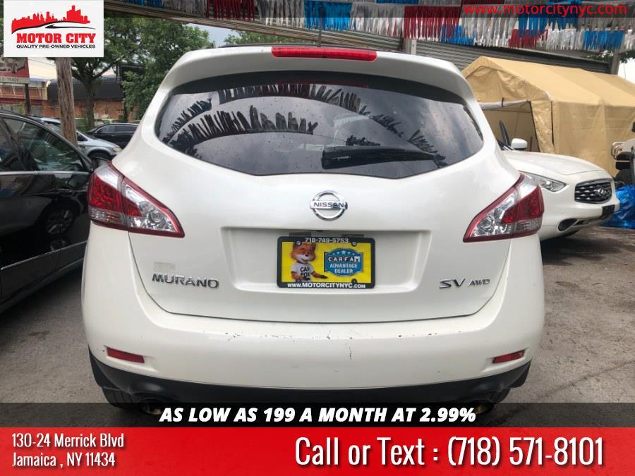 Used Nissan Murano AWD 4dr SV 2014   Motor City. Jamaica, New York