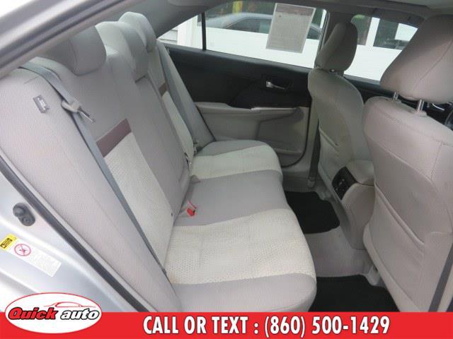 Used Toyota Camry 4dr Sdn I4 Auto XLE (Natl) 2013 | Quick Auto LLC. Bristol, Connecticut