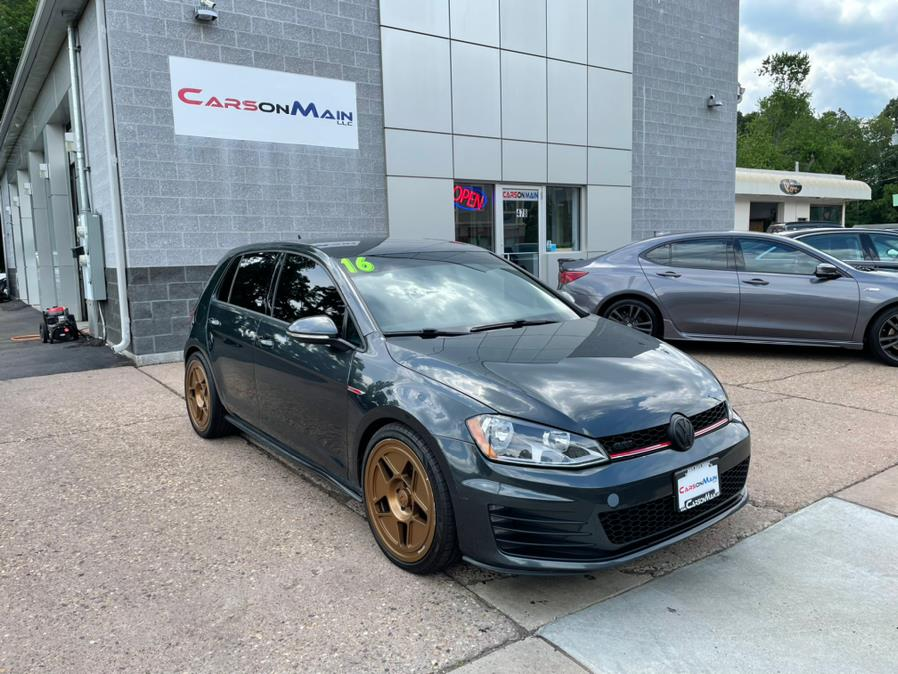 Used Volkswagen Golf GTI 4dr HB Man S 2016 | Carsonmain LLC. Manchester, Connecticut
