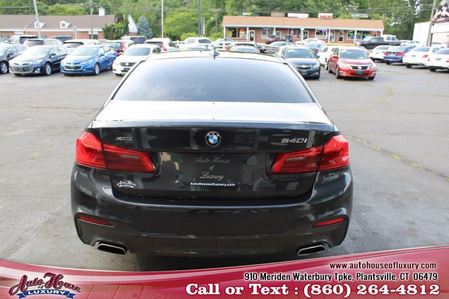 Used BMW 5 Series 540i xDrive Sedan 2018 | Auto House of Luxury. Plantsville, Connecticut