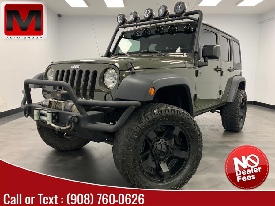 Used Jeep Wrangler Unlimited 4WD 4dr Sport 6MT 2015 | M Auto Group. Elizabeth, New Jersey
