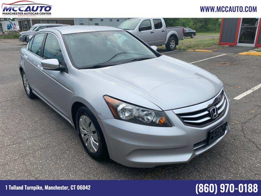 Used Honda Accord Sdn 4dr I4 Auto LX 2012 | Manchester Autocar Center. Manchester, Connecticut