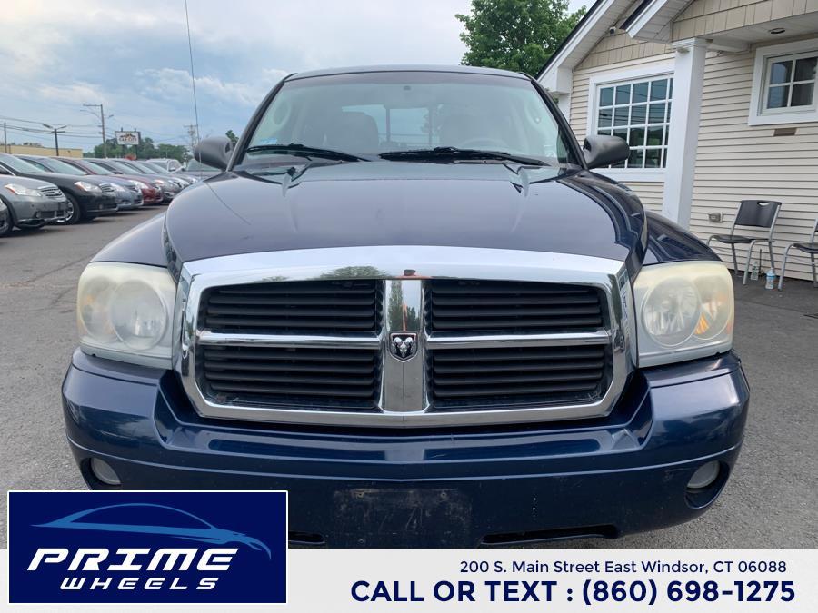 "Used Dodge Dakota 4WD Quad Cab 131"" SLT 2007   Prime Wheels. East Windsor, Connecticut"