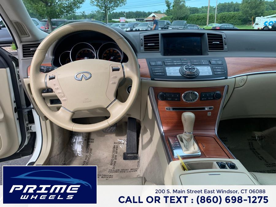 Used Infiniti M35 4dr Sdn RWD 2007 | Prime Wheels. East Windsor, Connecticut