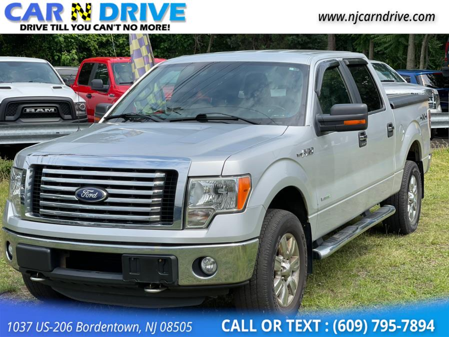 Used Ford F-150 XLT SuperCrew 5.5-ft. Bed 4WD 2011   Car N Drive. Bordentown, New Jersey