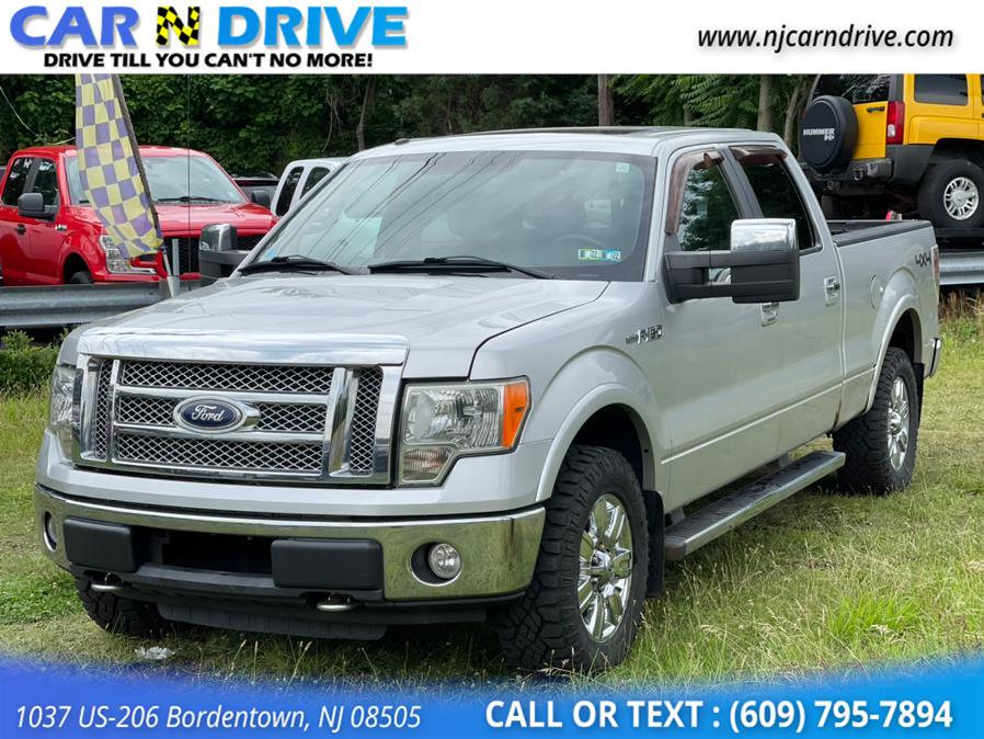 Used Ford F-150 Lariat SuperCrew 6.5-ft. Bed 4WD 2010   Car N Drive. Bordentown, New Jersey