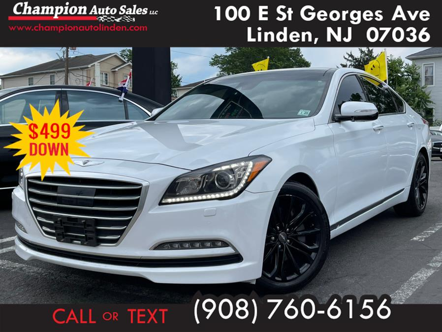Used 2016 Hyundai Genesis in Linden, New Jersey | Champion Auto Sales. Linden, New Jersey
