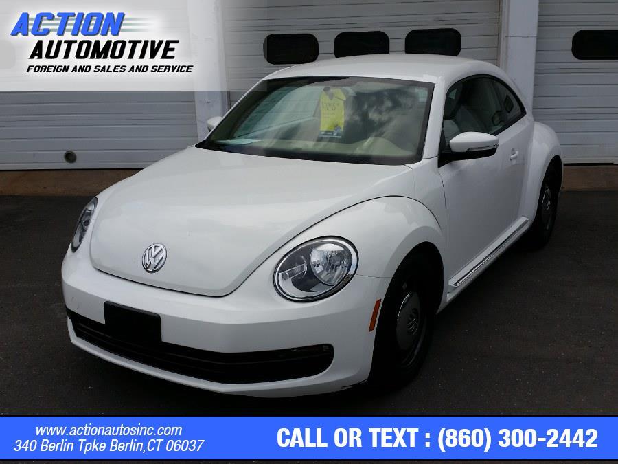 Used Volkswagen Beetle Coupe 2dr Auto 2.5L PZEV *Ltd Avail* 2014   Action Automotive. Berlin, Connecticut