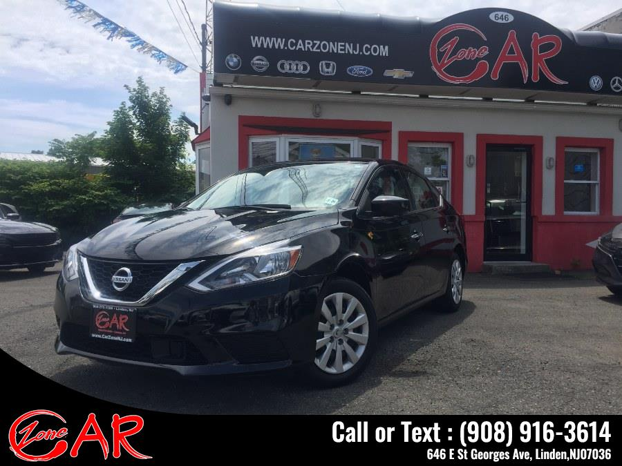 Used Nissan Sentra S CVT 2019 | Car Zone. Linden, New Jersey