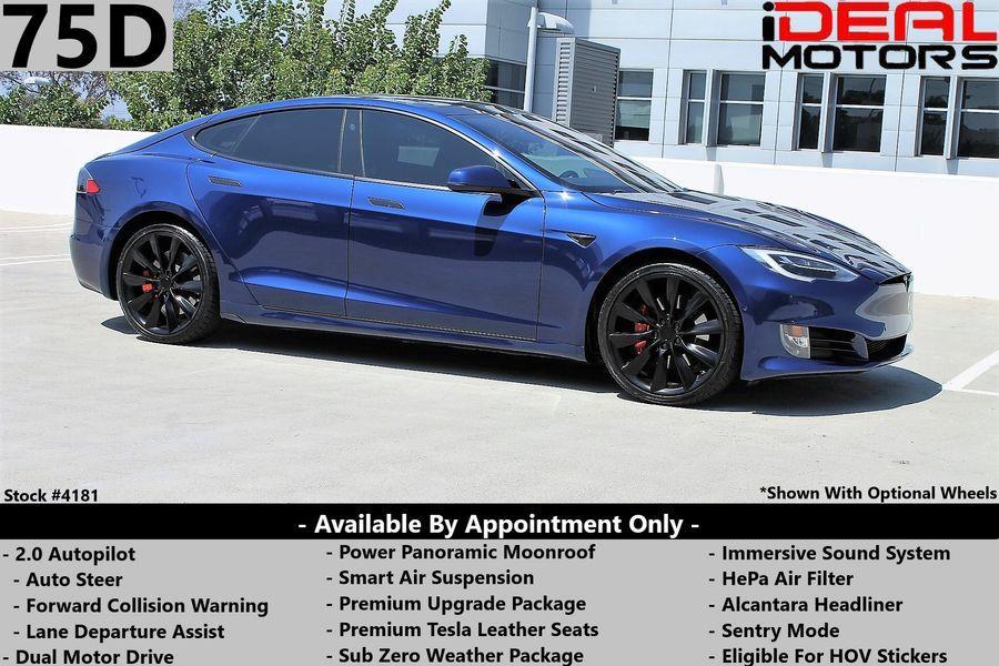 Used Tesla Model s 75D Sedan 4D 2018 | Ideal Motors. Costa Mesa, California