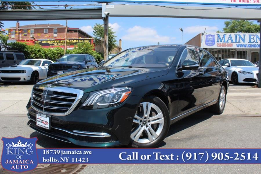 Used Mercedes-Benz S-Class S 450 4MATIC Sedan 2018 | King of Jamaica Auto Inc. Hollis, New York