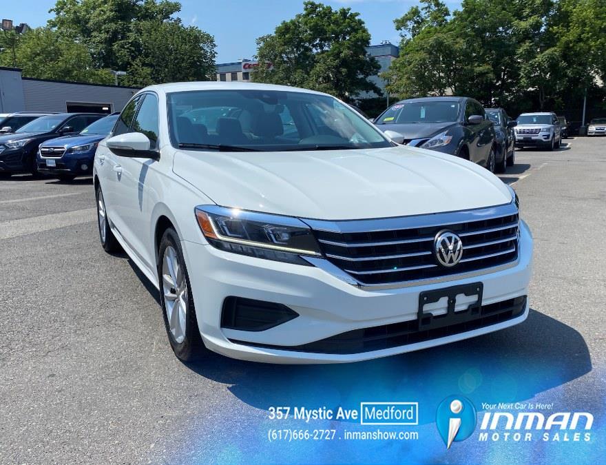 Used Volkswagen Passat 2.0T SE Auto 2020 | Inman Motors Sales. Medford, Massachusetts