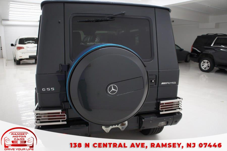 Used Mercedes-Benz G-Class 4MATIC 4dr 5.5L AMG 2004 | Ramsey Motor Cars Inc. Ramsey, New Jersey