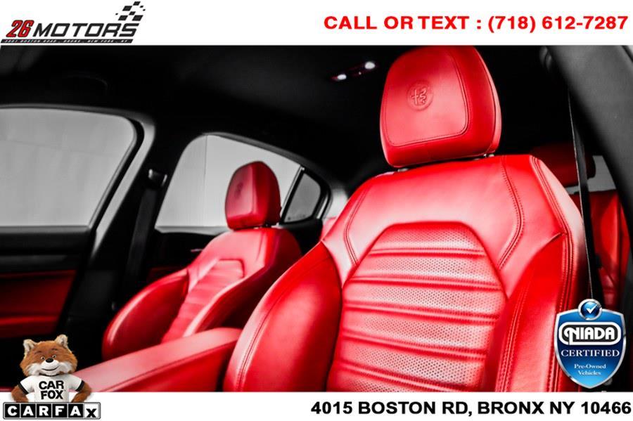Used Alfa Romeo Stelvio Ti Sport AWD 2018   26 Motors Corp. Bronx, New York