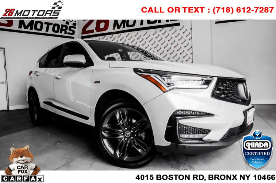 Used Acura RDX AWD w/A-Spec Pkg 2019   26 Motors Corp. Bronx, New York