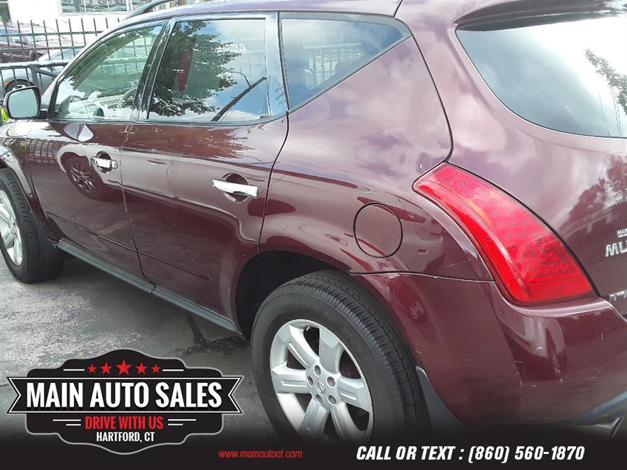 Used Nissan Murano AWD 4dr SL 2007   Main Auto Sales LLC. Hartford, Connecticut