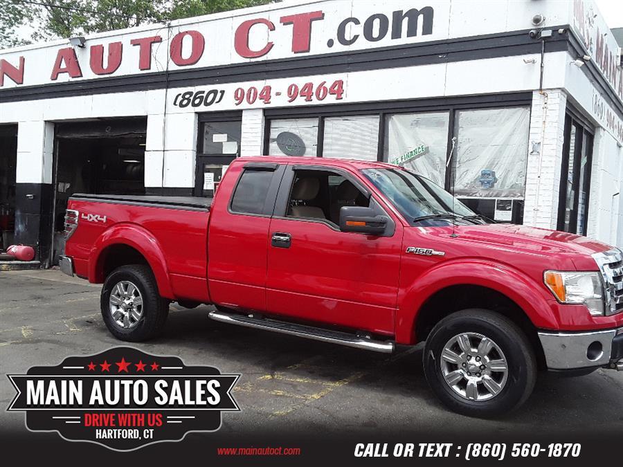 "Used Ford F-150 4WD SuperCab 133"" XLT 2009   Main Auto Sales LLC. Hartford, Connecticut"