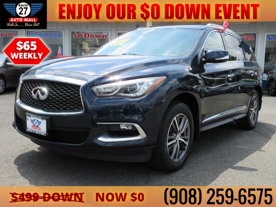 Used 2018 INFINITI QX60 in Linden, New Jersey | Route 27 Auto Mall. Linden, New Jersey