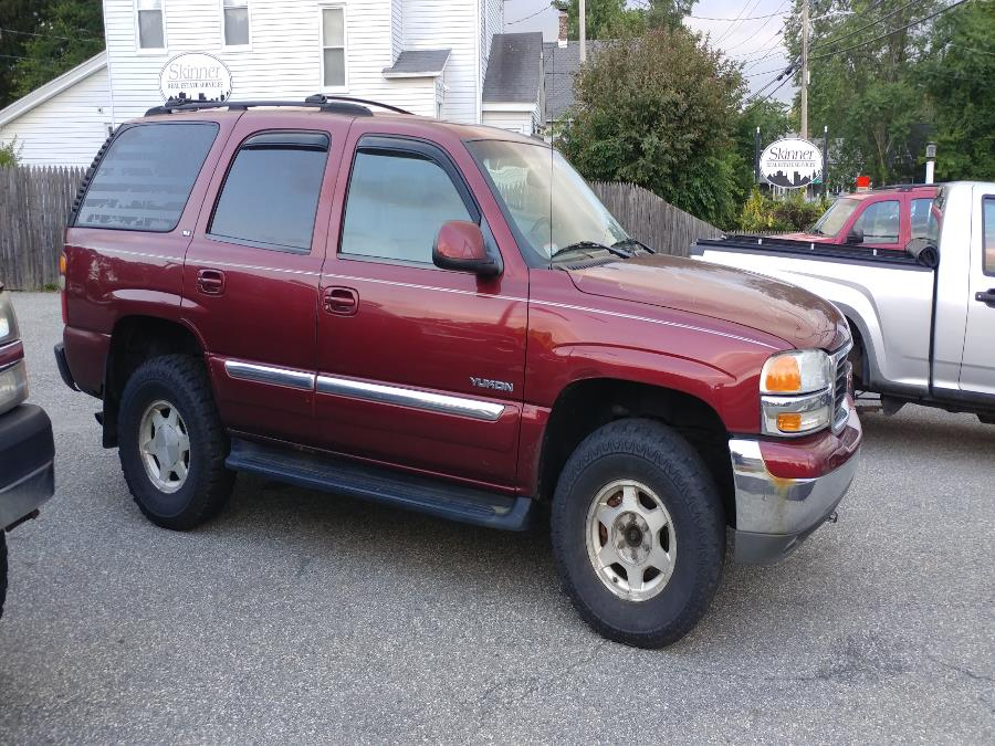 Used GMC Yukon 4dr 1500 4WD SLE 2003 | Matts Auto Mall LLC. Chicopee, Massachusetts