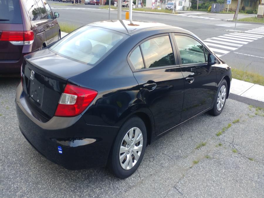 Used Honda Civic Sdn 4dr Man LX 2012 | Matts Auto Mall LLC. Chicopee, Massachusetts
