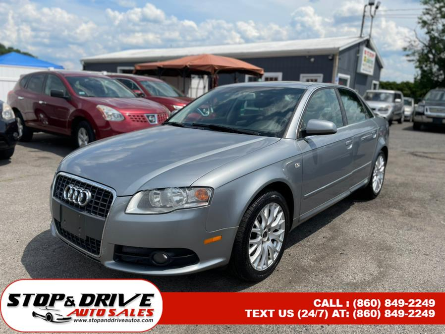 Used 2008 Audi A4 in East Windsor, Connecticut | Stop & Drive Auto Sales. East Windsor, Connecticut