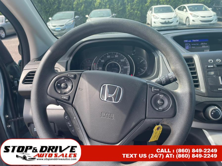 Used Honda CR-V AWD 5dr LX 2014   Stop & Drive Auto Sales. East Windsor, Connecticut