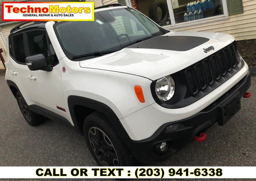 Used Jeep Renegade 4WD 4dr Trailhawk 2016 | Techno Motors . Danbury , Connecticut