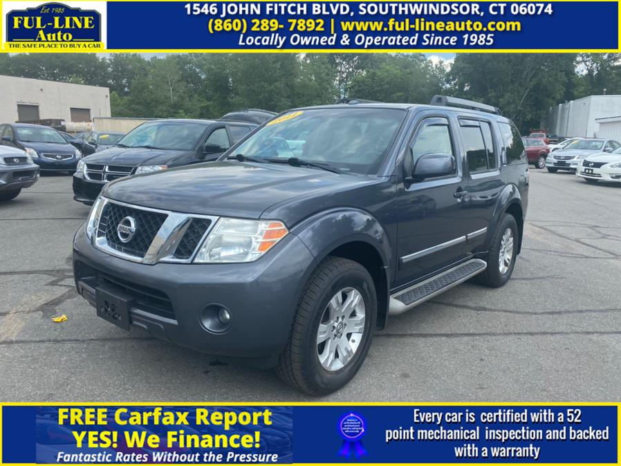 Used 2011 Nissan Pathfinder in South Windsor , Connecticut | Ful-line Auto LLC. South Windsor , Connecticut