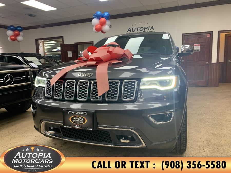 Used Jeep Grand Cherokee Overland 4x4 2018 | Autopia Motorcars Inc. Union, New Jersey