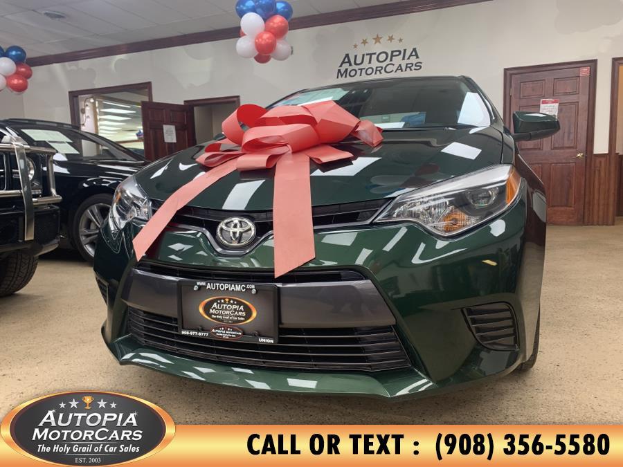 Used Toyota Corolla 4dr Sdn CVT LE Plus (Natl) 2015 | Autopia Motorcars Inc. Union, New Jersey