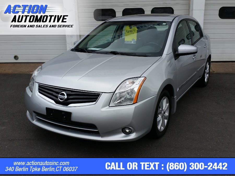 Used Nissan Sentra 4dr Sdn I4 CVT 2.0 S 2011   Action Automotive. Berlin, Connecticut