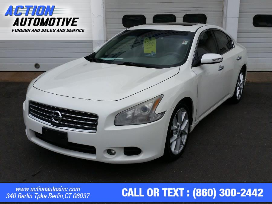 Used Nissan Maxima 4dr Sdn V6 CVT 3.5 S 2009   Action Automotive. Berlin, Connecticut