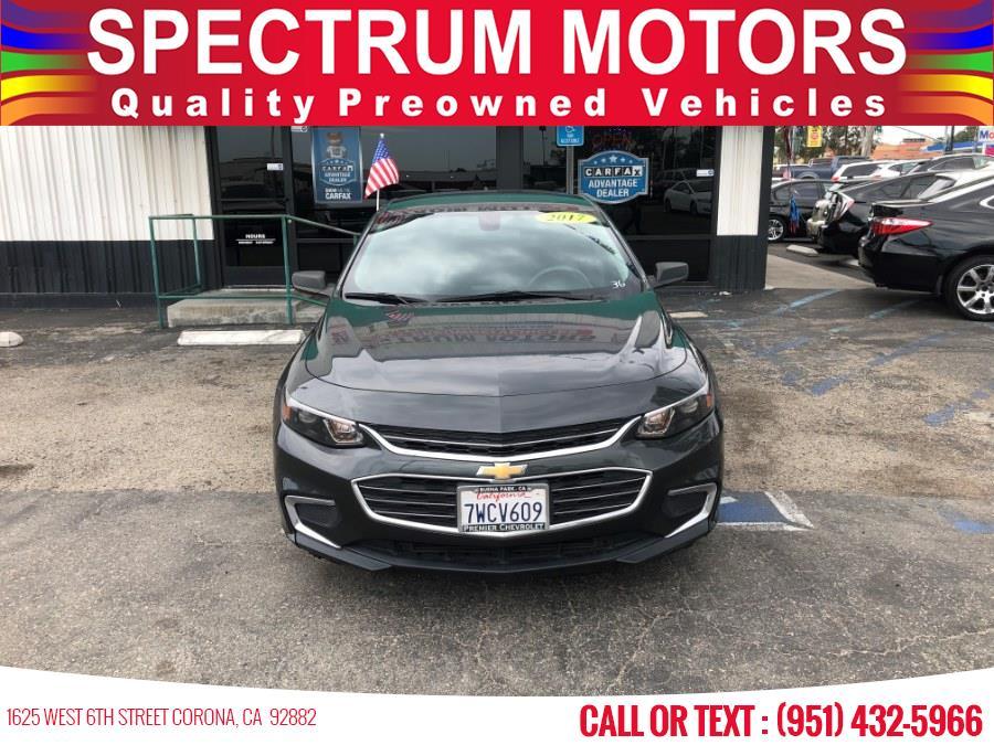 Used Chevrolet Malibu 4dr Sdn LS w/1LS 2017 | Spectrum Motors. Corona, California