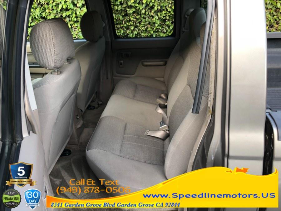 Used Nissan Frontier 2WD XE Crew Cab V6 Auto Long Bed 2003 | Speedline Motors. Garden Grove, California