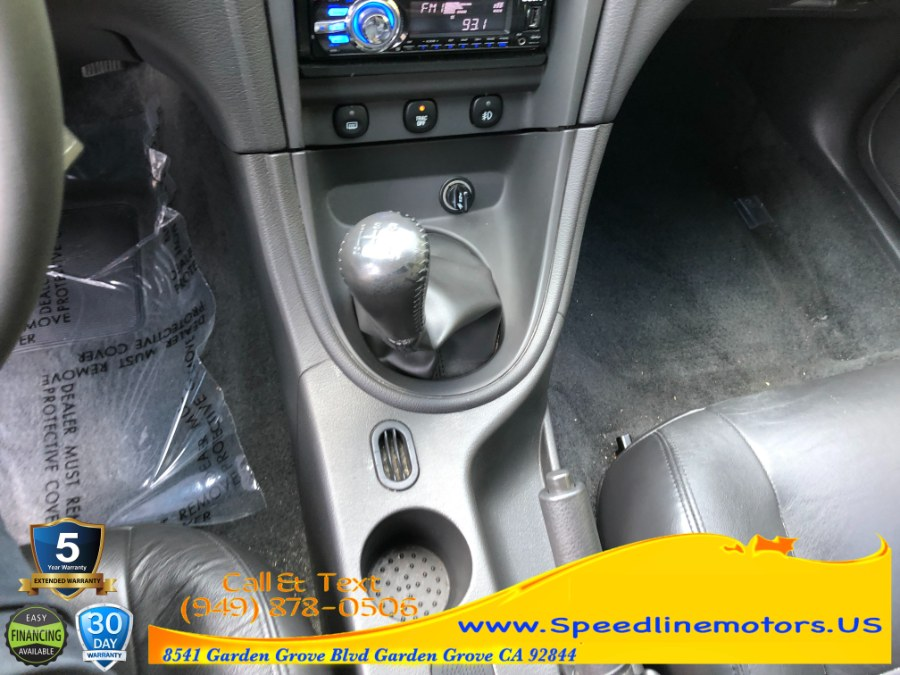 Used Ford Mustang 2dr Cpe GT Deluxe 2003 | Speedline Motors. Garden Grove, California