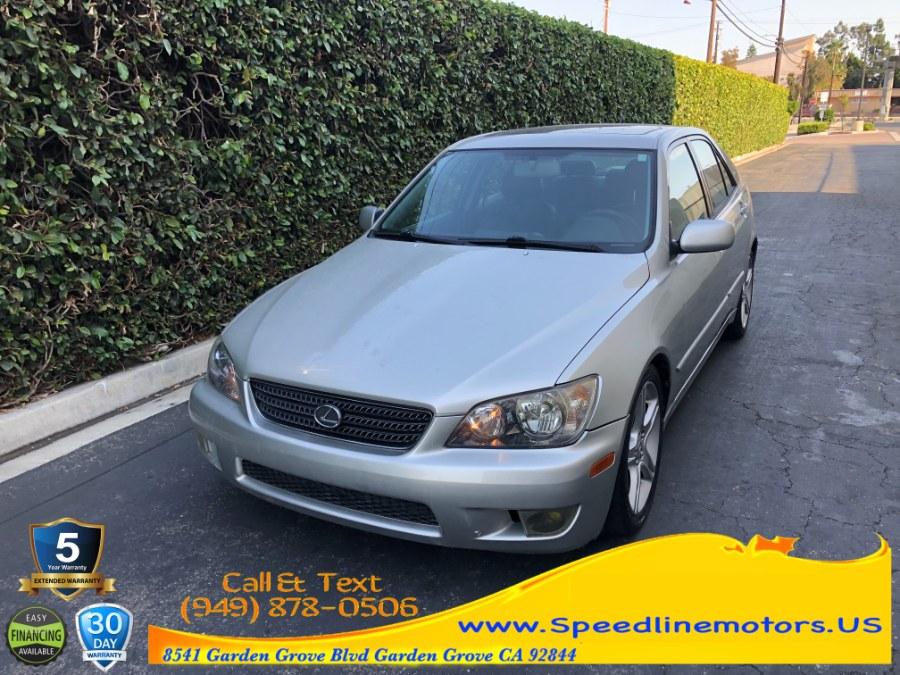 Used 2004 Lexus IS 300 in Garden Grove, California | Speedline Motors. Garden Grove, California