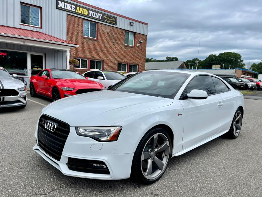 Used Audi S5 2dr Cpe Auto Prestige 2014   Mike And Tony Auto Sales, Inc. South Windsor, Connecticut