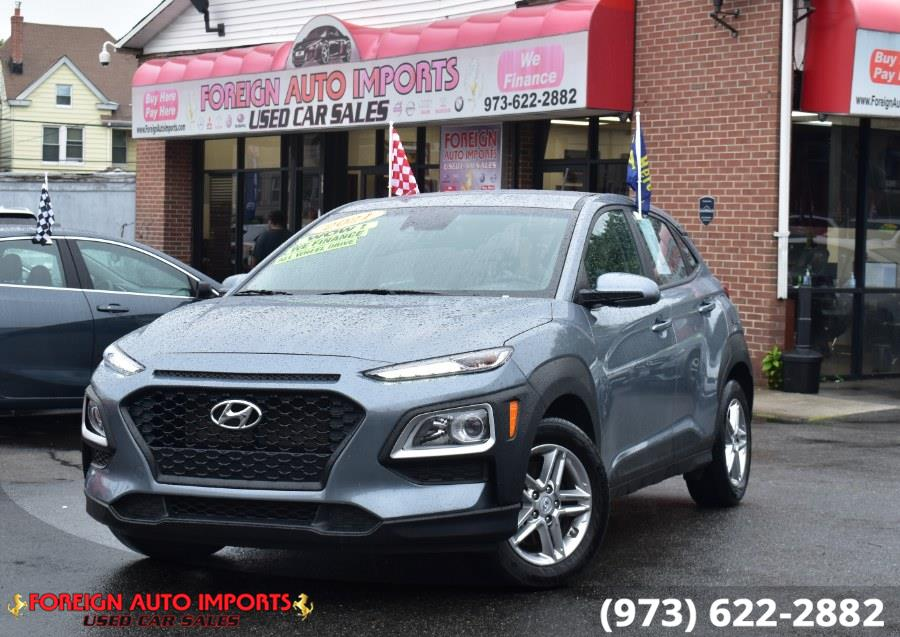 Used 2021 Hyundai Kona in Irvington, New Jersey   Foreign Auto Imports. Irvington, New Jersey