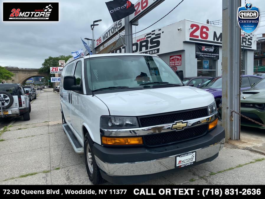 Used 2018 Chevrolet Express Cargo Van in Woodside, New York | 26 Motors Queens. Woodside, New York
