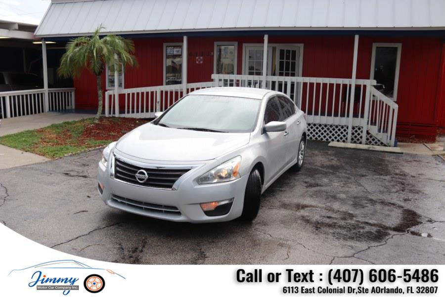 Used Nissan Altima 4dr Sdn I4 2.5 S 2015   Jimmy Motor Car Company Inc. Orlando, Florida