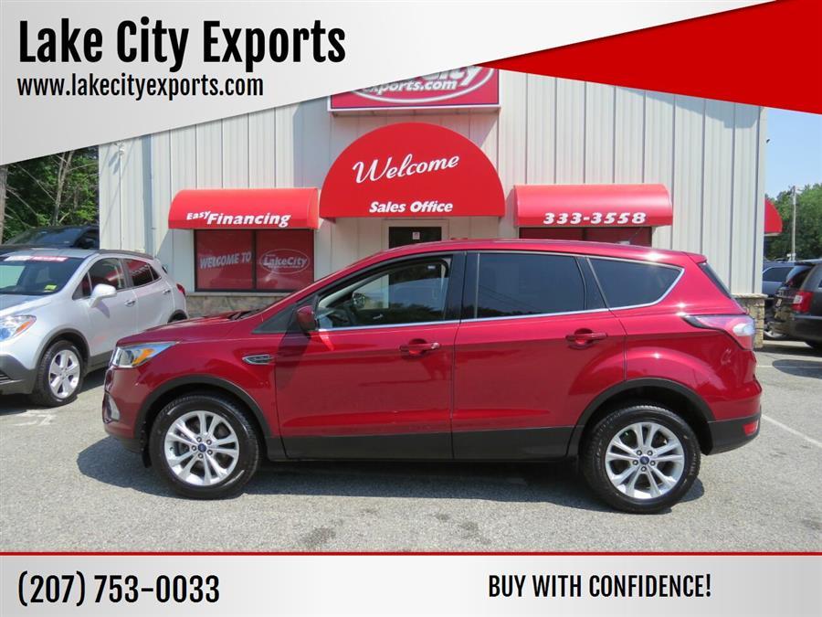 Used Ford Escape SE AWD 4dr SUV 2017 | Lake City Exports Inc. Auburn, Maine