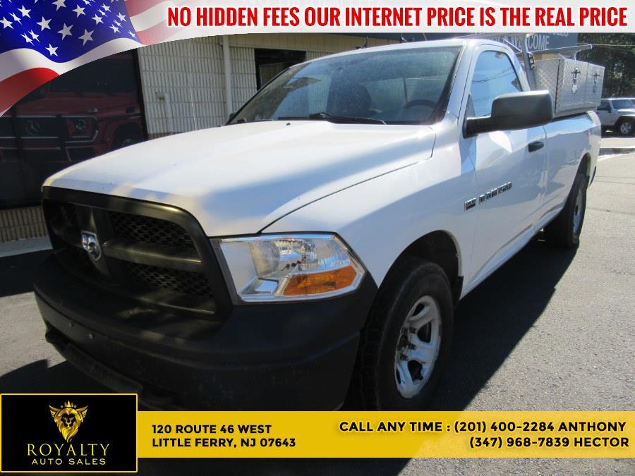 "Used Ram 1500 4WD Reg Cab 140.5"" Tradesman 2012   Royalty Auto Sales. Little Ferry, New Jersey"