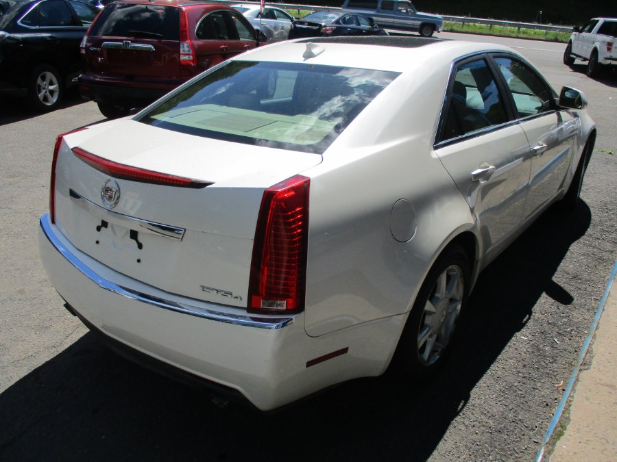 Used Cadillac CTS 4dr Sdn AWD w/1SA 2009 | Cos Central Auto. Meriden, Connecticut