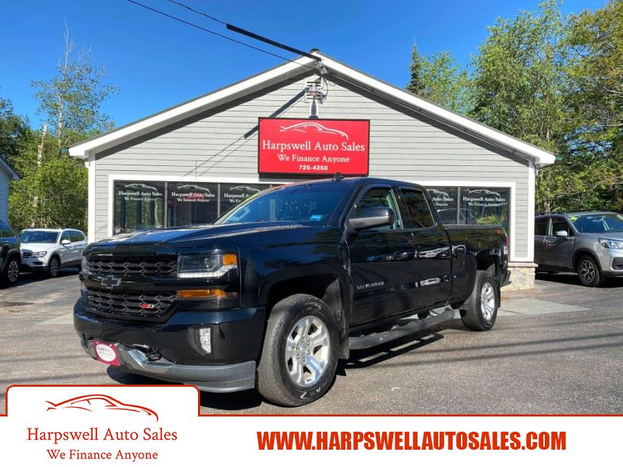 """Used Chevrolet Silverado 1500 4WD Double Cab 143.5"""" LT w/1LT 2018 