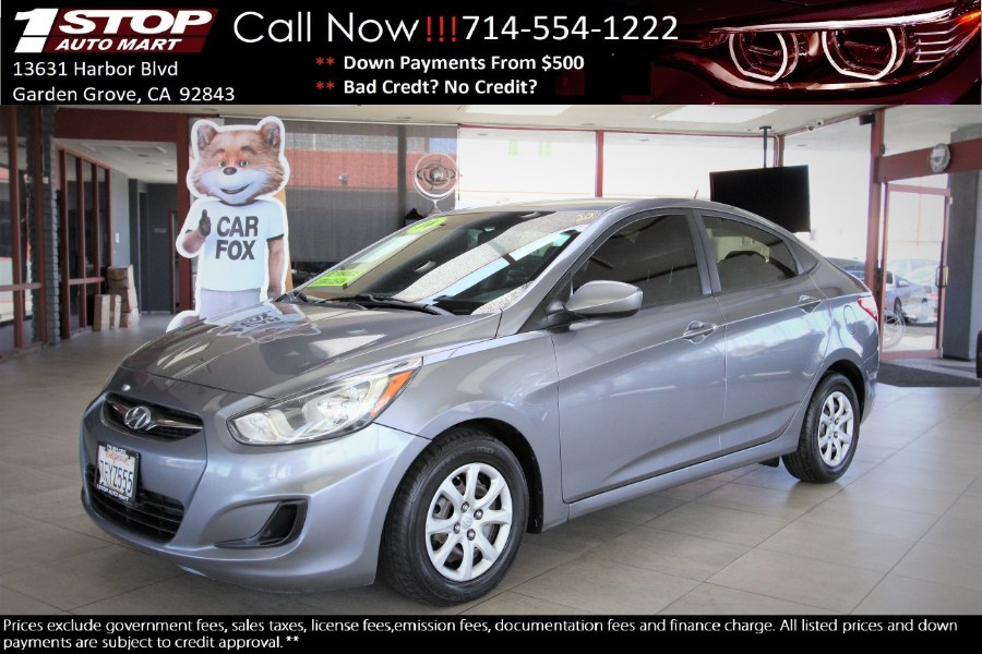 Used 2014 Hyundai Accent in Garden Grove, California | 1 Stop Auto Mart Inc.. Garden Grove, California