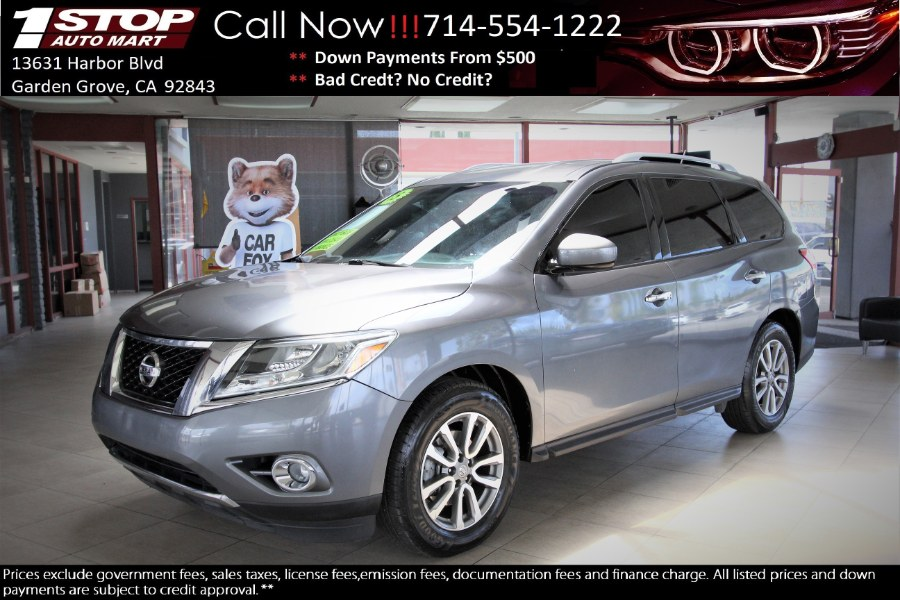 Used Nissan Pathfinder 2WD 4dr S 2015 | 1 Stop Auto Mart Inc.. Garden Grove, California
