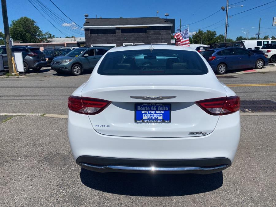 Used Chrysler 200 4dr Sdn C FWD 2016   Route 46 Auto Sales Inc. Lodi, New Jersey